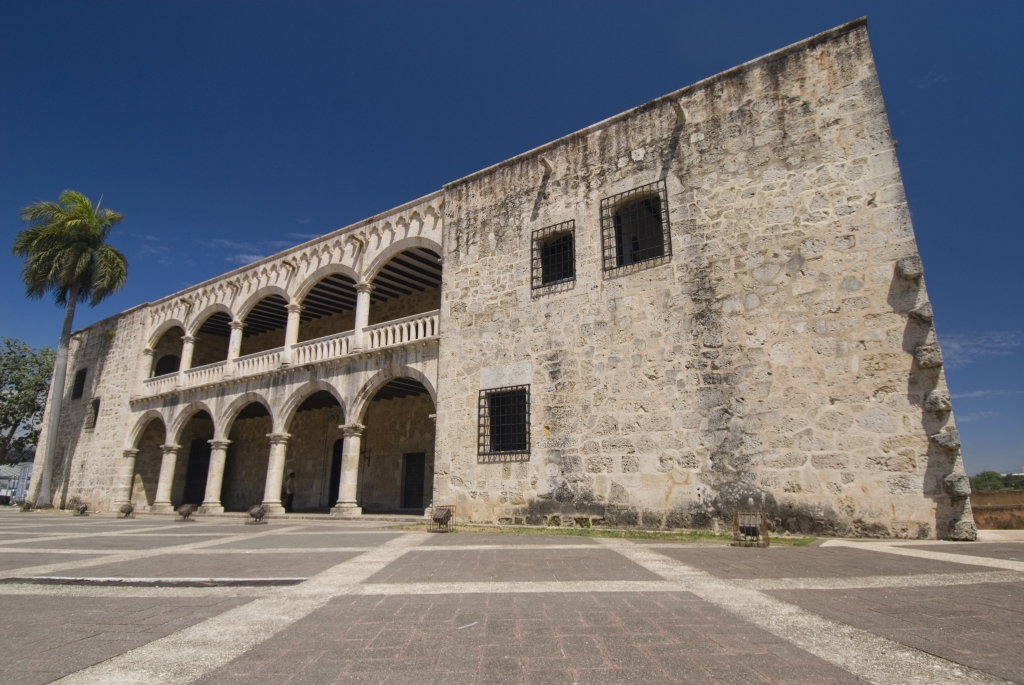 Alcazar de Colon (Columbus's son's house), Santo Domingo.